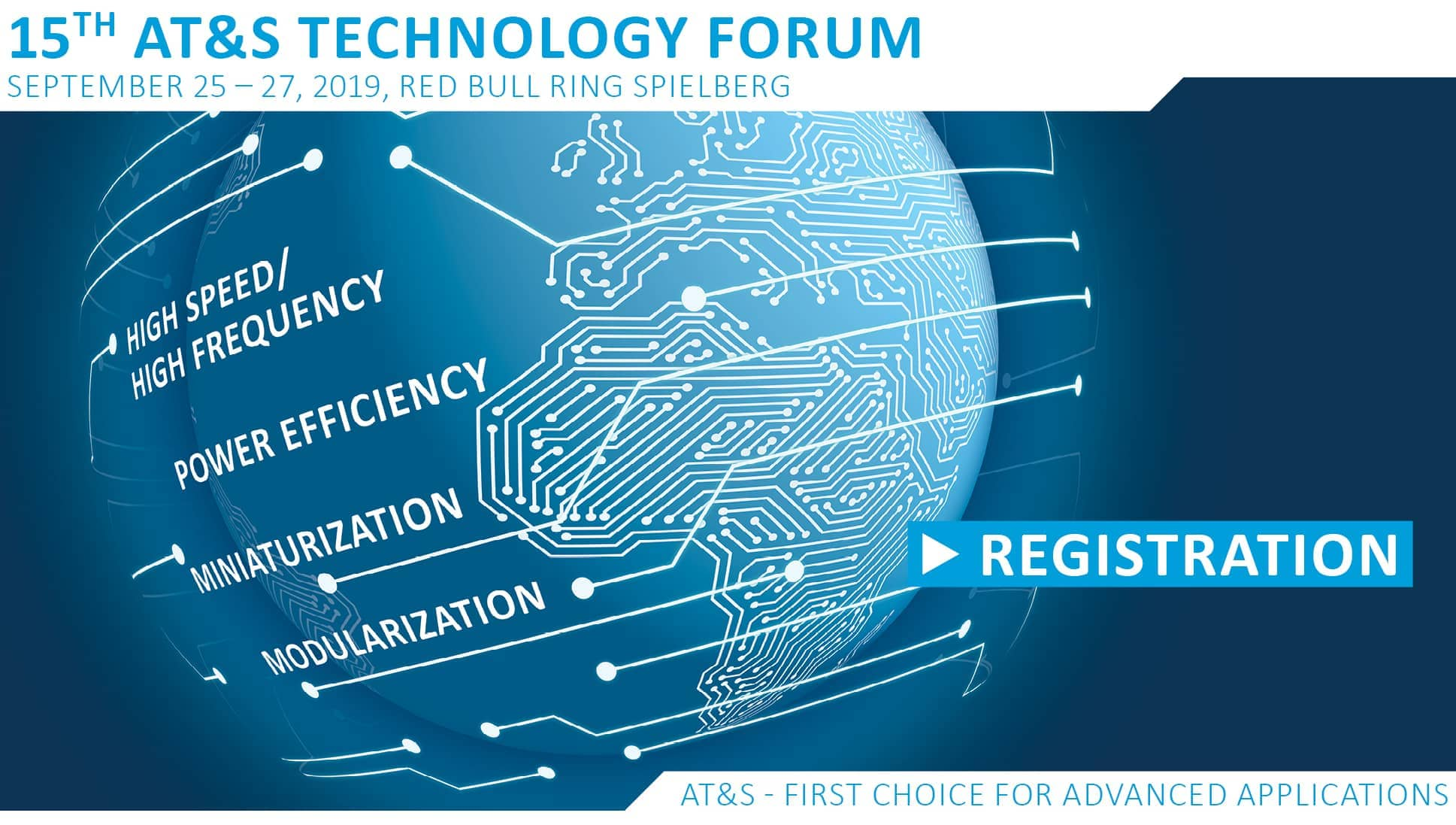 AT&S Technology Forum